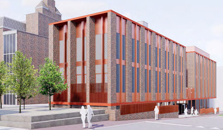 University of Liverpool flagship building progressing on site