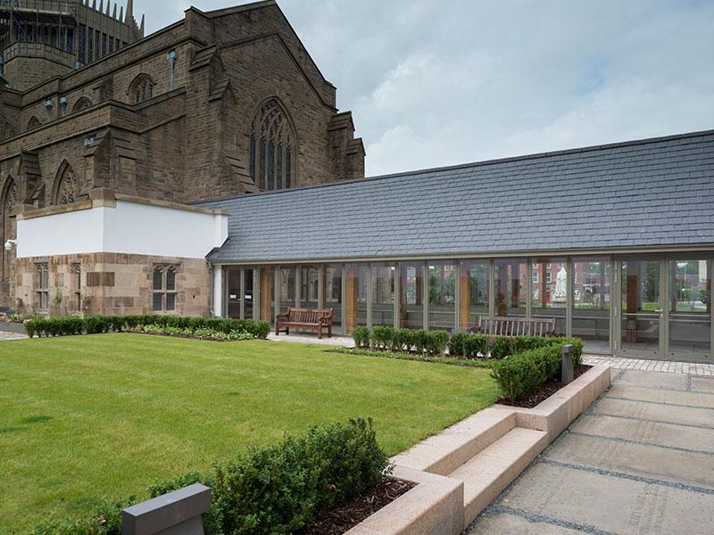 Blackburn Cathedral - John Turner Construction Project