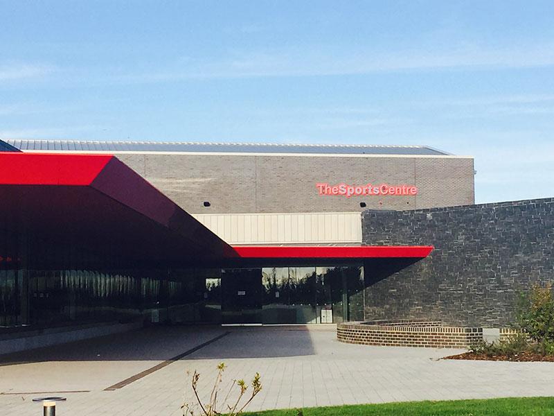 Edge Hill Sports Centre - John Turner Construction Project