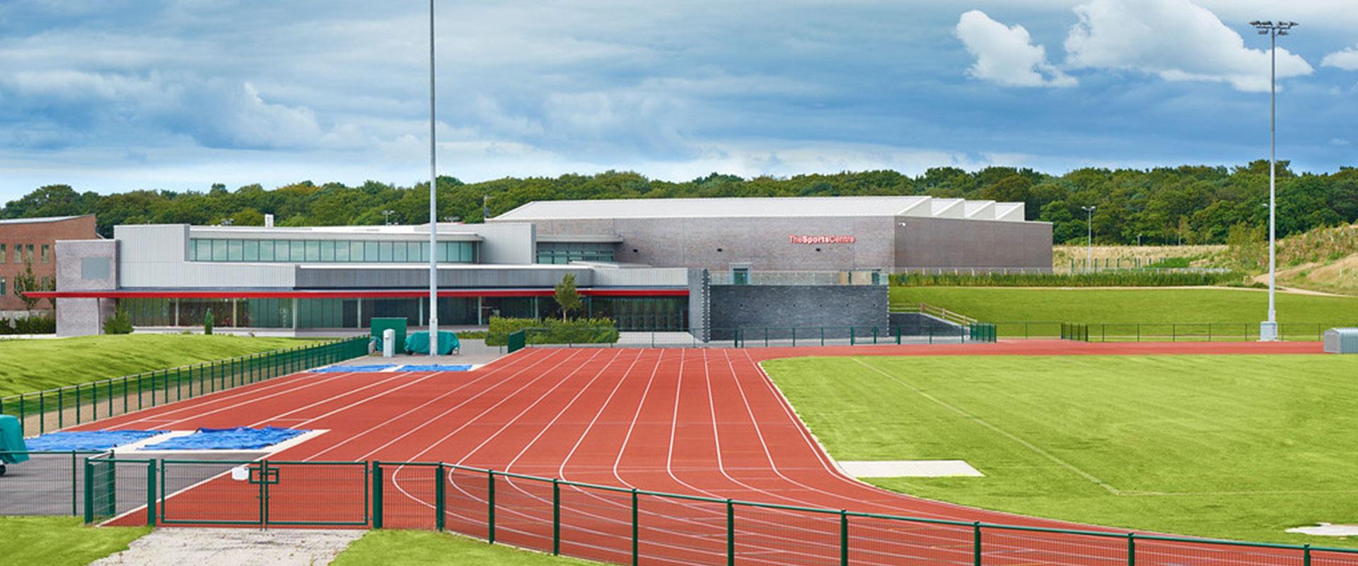 Edge Hill Sports Centre John Turner Construction Project