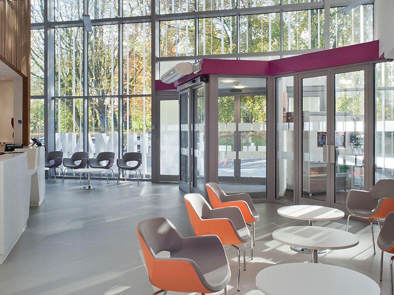 LCHC Main Entrance