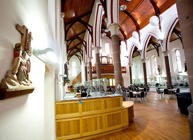 St Maries Church Widnes - Commercial Sector Project By John Turner Construction Group
