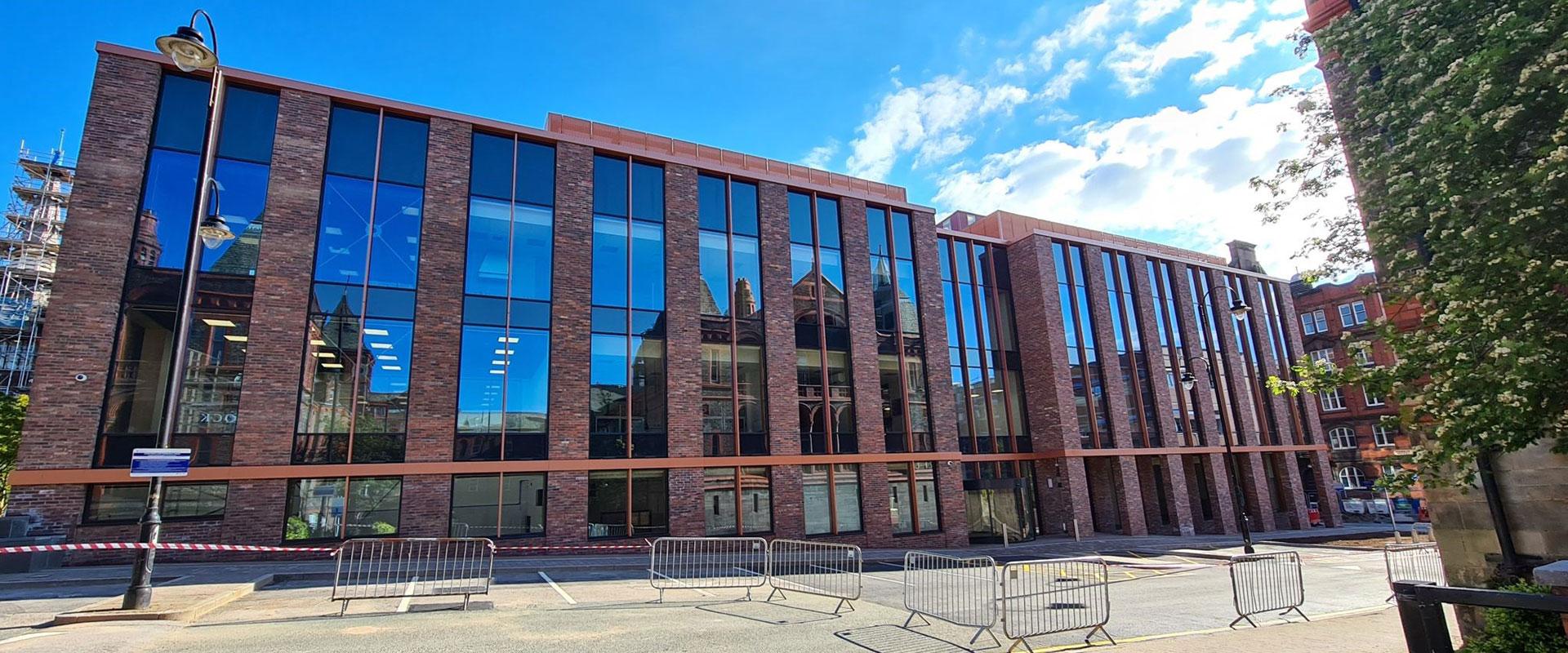 John Turner Construction complete Liverpool's new Digital Innovation Facility
